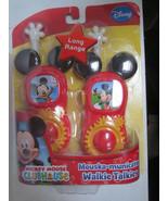 Mickey Mouse - Mouska-municator Walkie Talkies - Long Range - $25.00