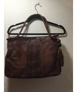 GUCCI GENUINE LEATHER BAMBOO TASSEL TOTE BAG HAND BAG PURSE BROWN - Free... - $500.00