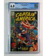 1969 Marvel Comics Captain America 112 CGC 6.0:Zemo,Batroc,Sub-Mariner,K... - $197.99
