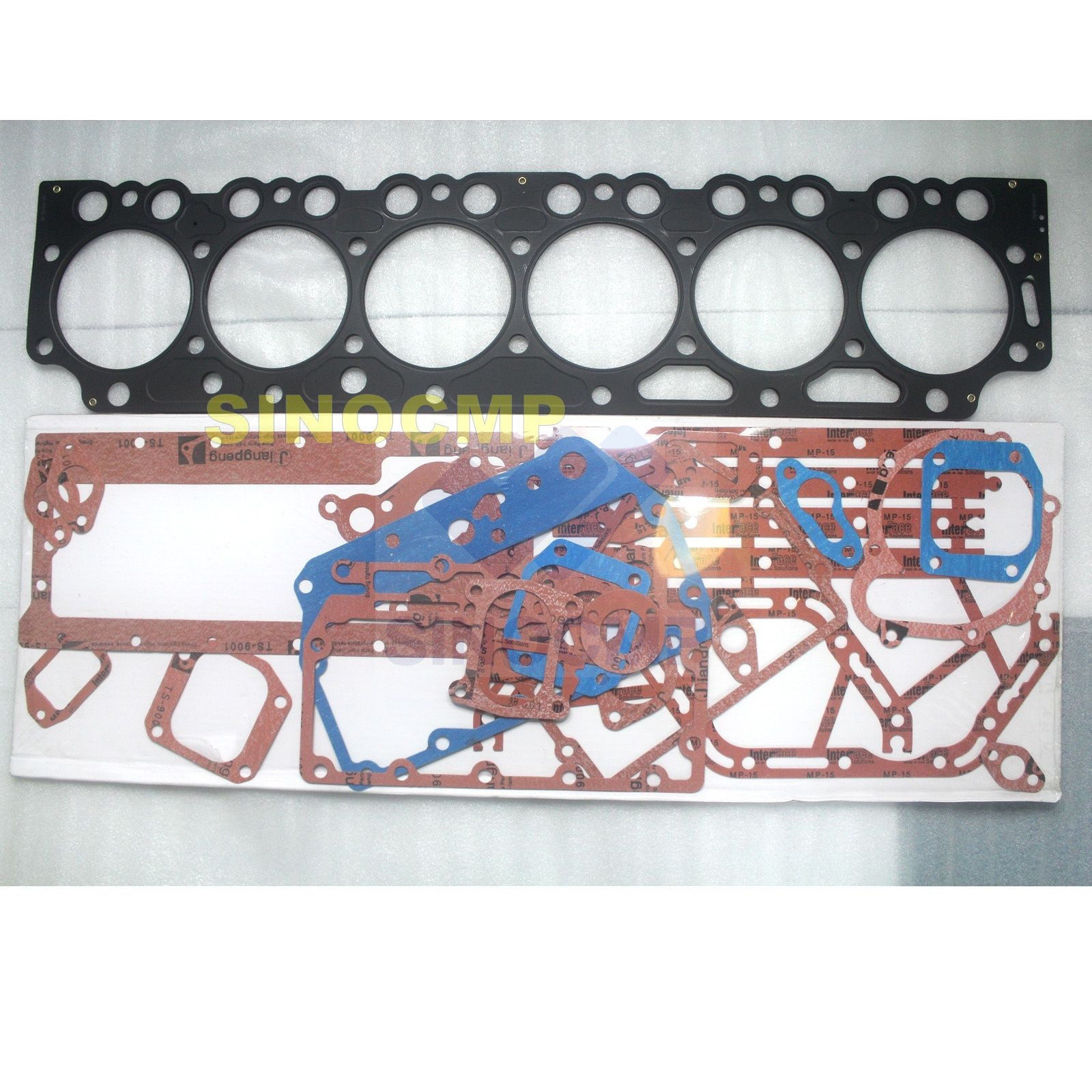 4HG1 4HG1T Engine Full Gasket Kit Excavator Aftermarket Parts for 4.6L NPR NPR300 Truck 2000-Isuzu Engine New Style