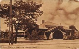 Piedmont Station Key Route Electric Train Depot Oakland California 1911 ... - $7.43