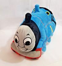 "Pillow Pets SOFT THOMAS THE TANK ENGINE TRAIN 16"" Plush STUFFED ANIMAL Toy - $24.74"