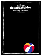 NiåÐos desaparecidos, missing children Decor Poster.Graphic Interior des... - $11.30+