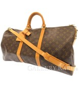 LOUIS VUITTON Keepall Bandouliere 55 Monogram Canvas M41414 Travel Bag A... - $605.44