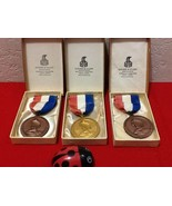 Vtg Rare 1960 Southern Peach AAU Swimming Championships 3 Medals - $35.00
