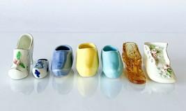 Vintage Ceramic Glass Fenton Japan Wooden Ceramic Victorian 1940s Baby L... - $20.00