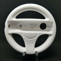 Official OEM Authentic Nintendo Wii Steering Racing Wheel White RVL-024 - $9.19