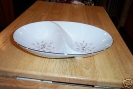 Sango divided serving bowl (Boutoniere) 1 available - $4.90