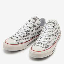 CONVERSE ALL STAR 100 MANYNAME OX White Chuck Taylor Japan Exclusive image 2