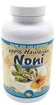Hawaii Nutrition Company - Noni - 100% Grade A Noni Fruit Capsule - 240 Capsules image 1
