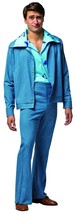 National Lampoons Christmas Vacation Cousin Eddie Leisure Suit Mens Cost... - $41.79