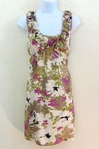 Ann Taylor Loft Dress Size 0 Silk Blend Scoop S... - $19.58