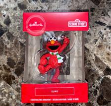 Hallmark 2019 Christmas Ornament Sesame Street Elmo Striped Scarf Candy ... - $15.84