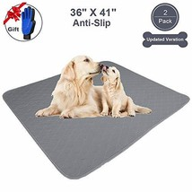 JdPet Washable Puppy Pads+Free Grooming Gloves,Non Slip Dog Pee Pad with... - $42.30