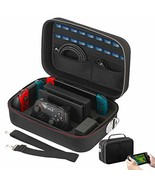 Vikena Nintendo Switch Game Deluxe Travel and Storage Case ,Game Carryin... - $55.57