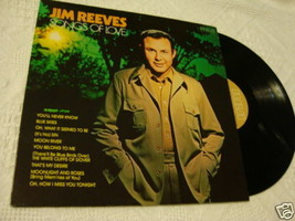 Jim Reeves Songs Of Love LP Álbum Record Rca Apl 1-1037 - $19.76