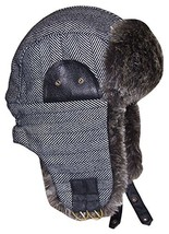 N'Ice Caps Boys Tweed Trapper with Faux Fur Lining 54cm 2-4yrs, Grey/Bla... - €20,30 EUR