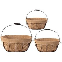 A&B Home Mesh Wire Basket, Set of 3 - $62.36