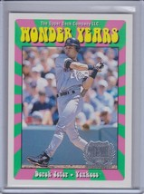 DEREK JETER 1999 Upper Deck Wonder Years #WY12  (B7578) - $5.36