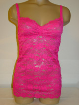 Urban Outfitters Pins and Needles pink all lacy cami tank top Made USA-X... - $11.80