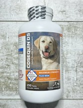 Nutramax Cosequin Plus MSM & HA Chewables Joint Health Dog 250 Tab EXP03/23 - $39.99