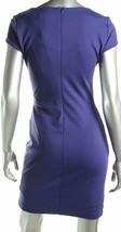 Dylan Gray Women'S Gathered Cap Sleeve Dress, Midnight (Dark Blue/Purple), Large image 2