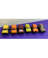 Lot of 6 1980s Vintage Mini Stompers 4x4 Monster Trucks Schaper Toys Pla... - $39.59