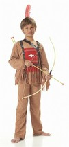 California Costume Indian Running Bull Child Costume Asst Sizes #00521 Brand New - $15.99