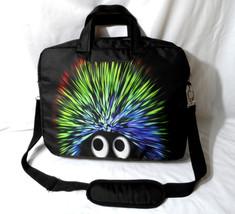 Nwot LAPTOP CASE BAG Messenger Black Multi-color muppet Humorous Funny 4... - $16.82