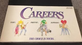 Careers Vintage Board Game Complete Fame Fortune Happiness Your Choice 1992 - $28.04