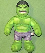 "17"" TALKING HULK BUDDY Marvel Marvelkids Plush 2013 WORKING SUPER HERO S... - $20.57"