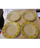 "Set of 4 Royal Doulton Ceramic Salad Cereal Bowls Blueberry Pattern 8.5""... - $51.98"