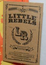Little Rebels Surf Club Short and Shirt Set Orange Plaid Size 2T image 7
