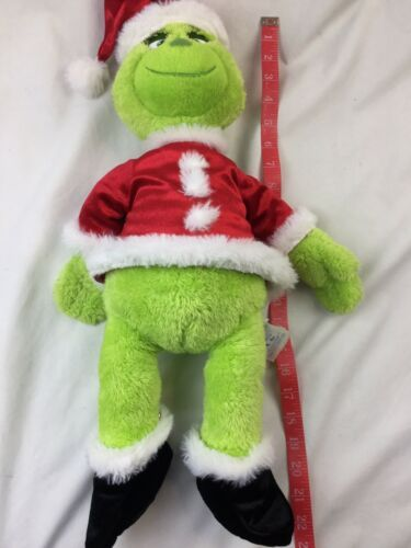 Build A Bear BAB Dr Seuss Grinch The Movie 2018 Stuffed Plush With Sound Box  image 9