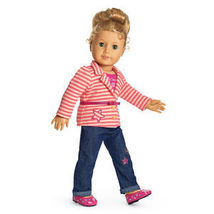 New in Box American Girl Doll Bright Stripes Outfit - $40.00