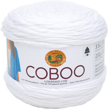Lion Brand Coboo-White - $25.80