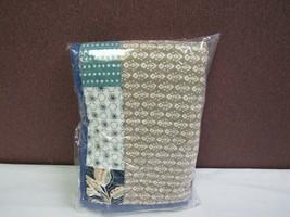 Martha Stewart Contrast Patchwork Cotton Standard Sham T410101111 - $32.56