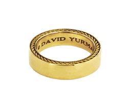 David Yurman Streamline Men's Band Ring in 18K Gold, size 9.5 - $1,350.00
