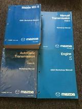 2009 Mazda MX-5 MX5 Miata Servicio Reparación Taller Tienda Manual OEM J... - $172.82