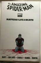 SPIDER-MAN Matters of Life & Death (2011) Marvel Comics HC FINE 1st - $12.86