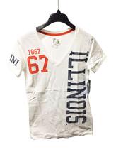 Illinois Fighting Illini 1867 White V-Neck T-Shirt Size S - NWT $24.99 - $13.86