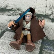 Playskool Star Wars Galactic Heroes Old Obi Wan Kenobi Figure - $34.64
