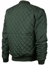 Men's Lightweight Ring Zipper Quilted Water Resistant Slim Bomber Jacket JASON image 10