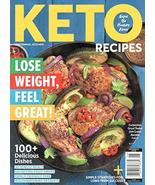 Keto Recipes Magazine (2020) Lose Weight, Feel Great! 100+ Delicious Dishes - $12.73