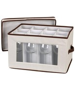 Household Essentials Vision Storage Box,Wine,Organize, Container, Packag... - $34.49