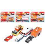 Tow & Go Series 1, Set B of 3 Cars Johnny Lightning 50 Years Limited Edi... - $88.81