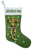 Teenage Mutant Ninja Turtle Christmas Stocking - Personalized and Hand M... - $29.99