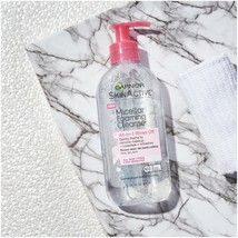 SkinActive Micellar Foaming Face Wash Gel Cleanser, Garnier, 6.7 Oz Oil ... - $10.30
