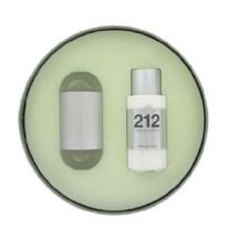 Carolina Herrera 212 Eau De Toilette Spray 3.4 Oz + Body Lotion 3.4 Oz 2 Pcs Set image 2