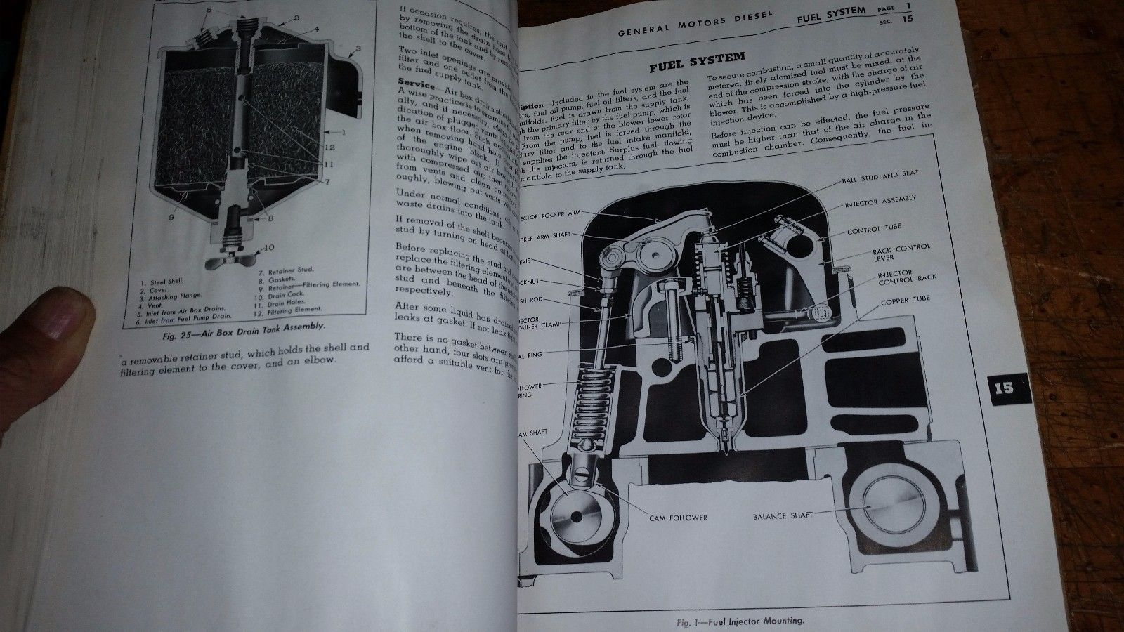 GM DETROIT DIESEL SERIES 71 MAINTENANCE MANUAL FOR 3,4,AND 6 CYL UNITS